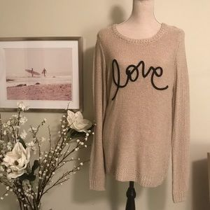 Lauren Conrad Knit Sweater, size Medium